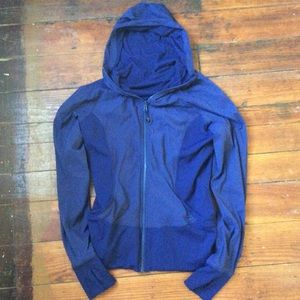 Lululemon dark purple in flux jacket 12